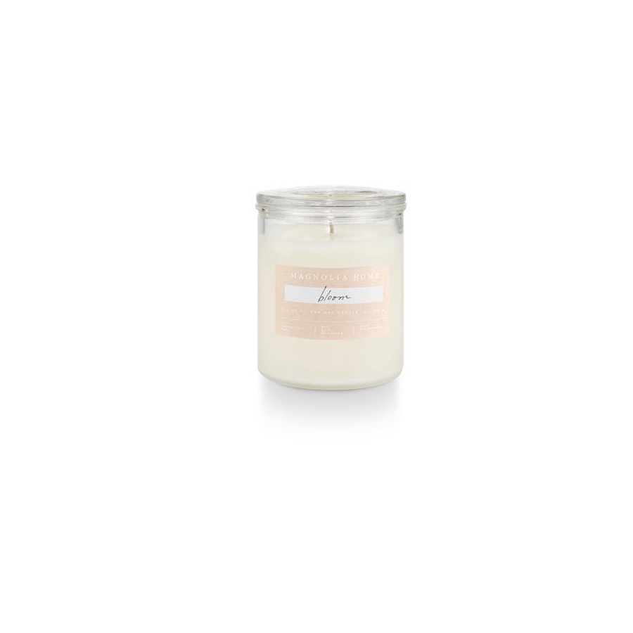 Image For Magnolia Home - Glass Jar Candle - Bloom