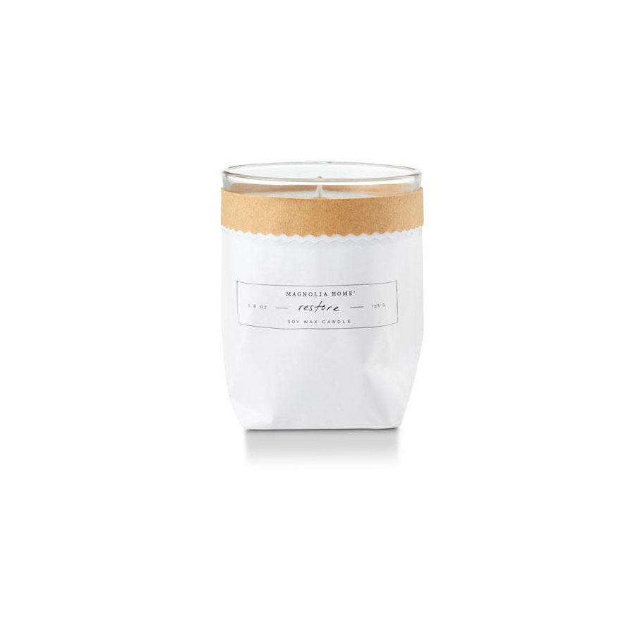 Image For Magnolia Home - Bagged Candle - Restore