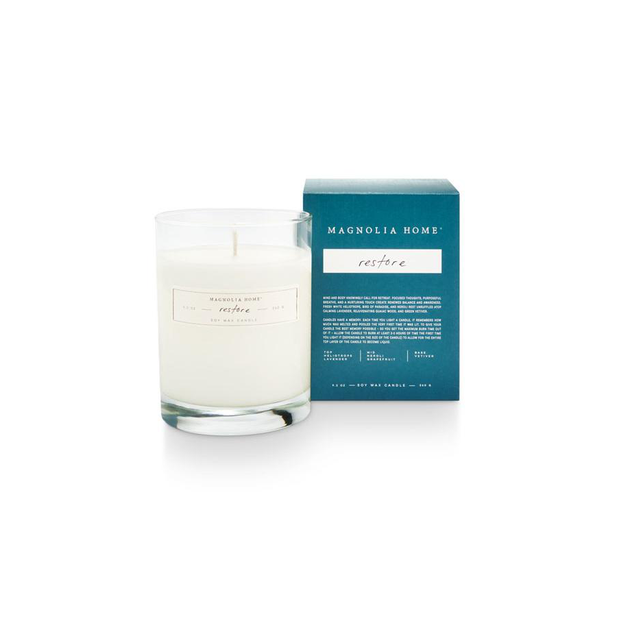 Image For Magnolia Home - Boxed Candle - Restore