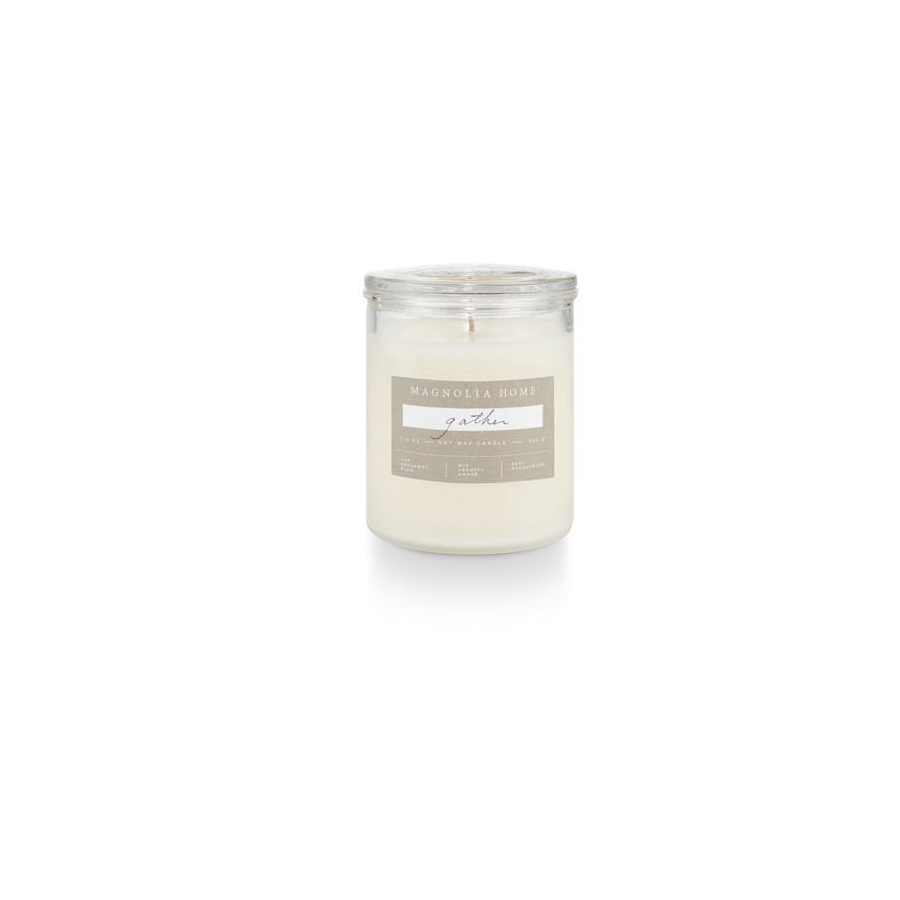 Image For Magnolia Home - Glass Jar Candle - Gather