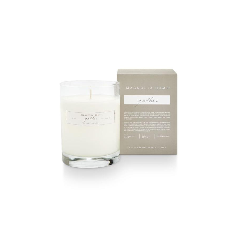 Image For Magnolia Home - Boxed Candle - Gather