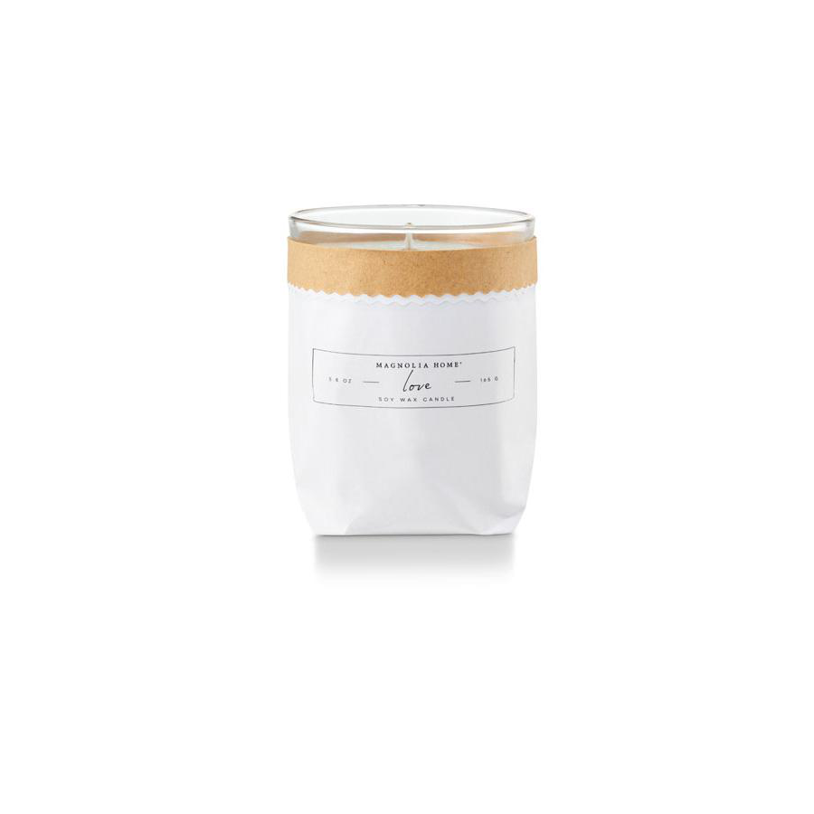 Image For Magnolia Home - Bagged Candle - Love