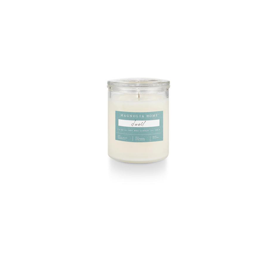 Image For Magnolia Home - Glass Jar Candle - Dwell