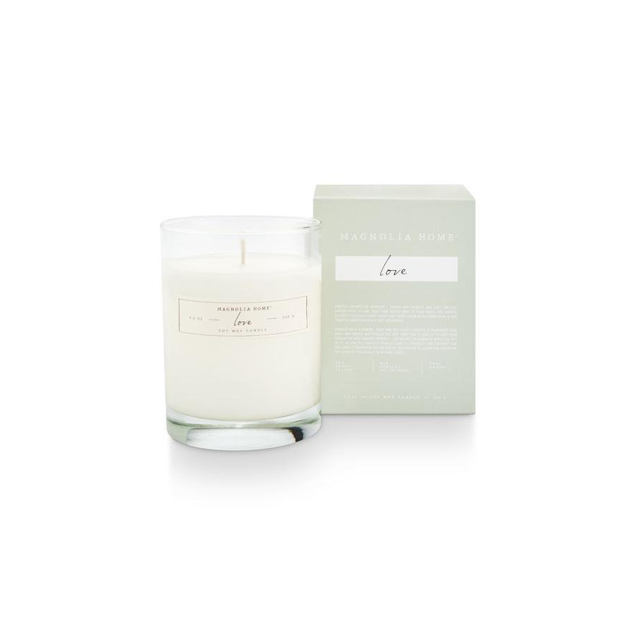 Image For Magnolia Home - Boxed Candle - Love