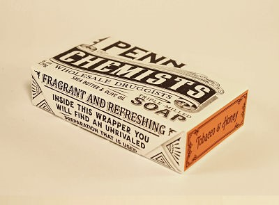 Image For Penn Chemists - Bar Soap - Tobacco and Honey