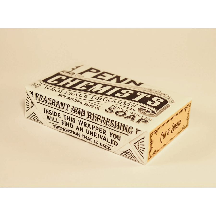 Image For Penn Chemists - Bar Soap - Cut and Shave