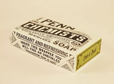 Cover Image For Penn Chemists - Bar Soap - Lime and Basil