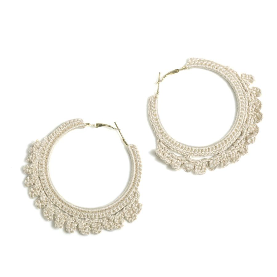 Image For Shiraleah - Emme Earrings - Ivory