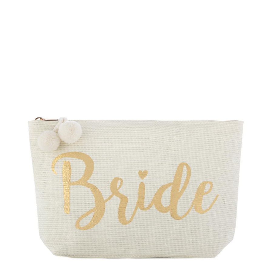Image For Shiraleah - Zip Pouch - Bride