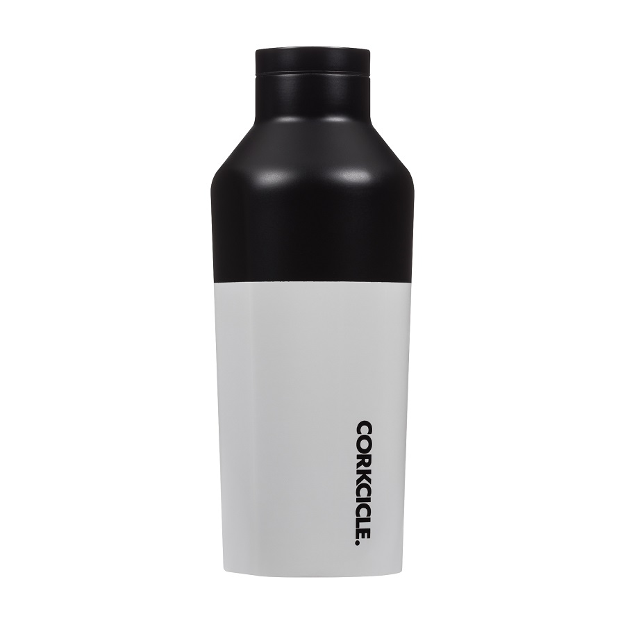 Cover Image For Corkcicle - 9 oz. Canteen - Modern Black
