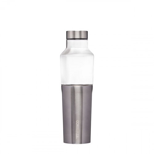 Image For Corkcicle - 20 oz. Hybrid Canteen - Gunmetal