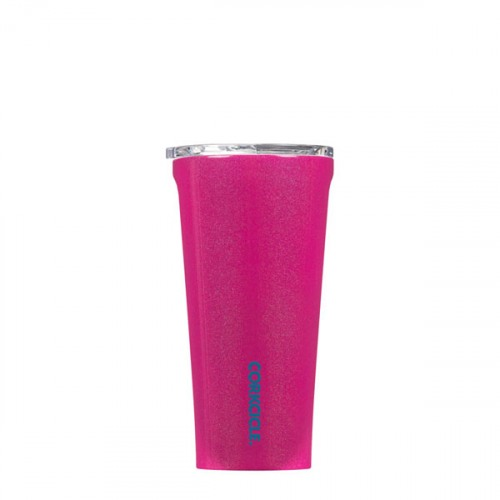 Image For Corkcicle - 16 oz. Tumbler - Pink Dazzle