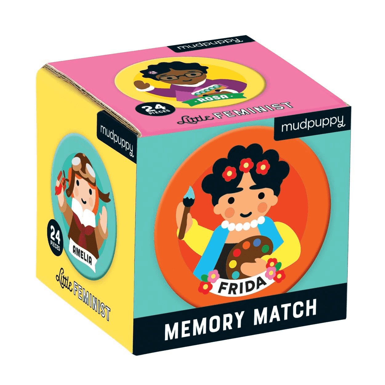 Image For Mudpuppy - Little Feminist - Memory Game