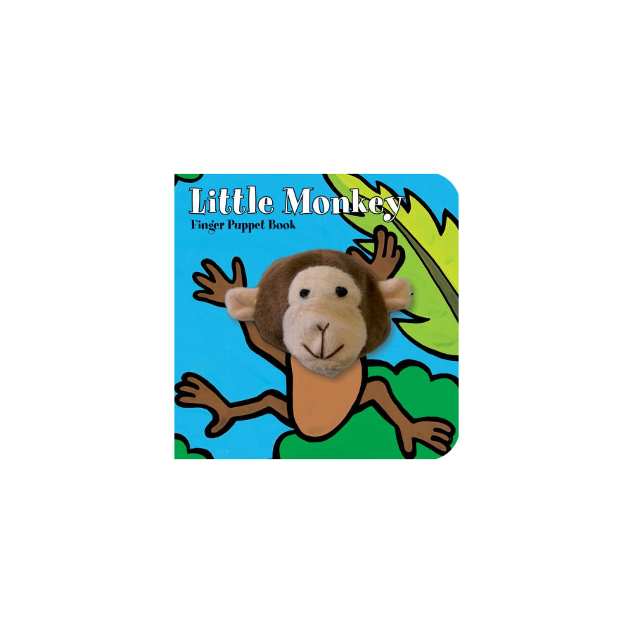 Image For Chronicle Books - Finger Puppet Books - Little Monkey