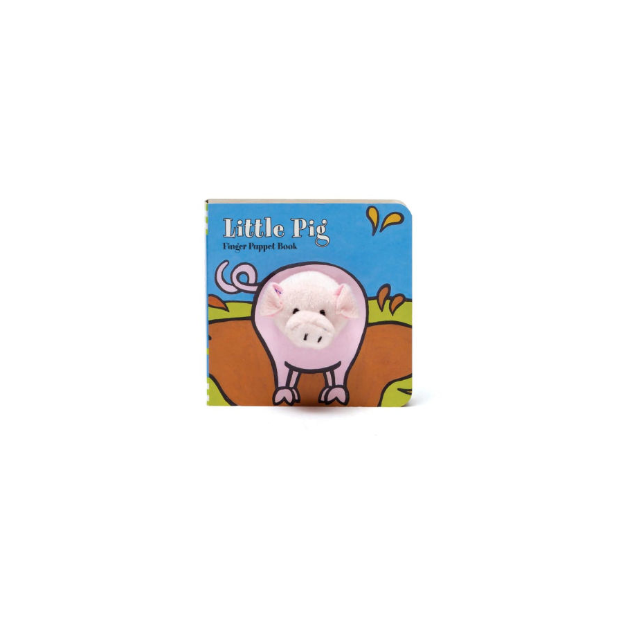 Image For Chronicle Books - Finger Puppet Books - Little Pig