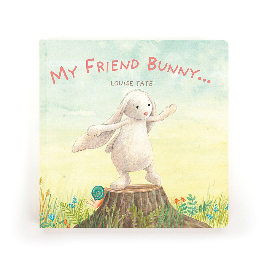 Image For Jellycat - Book - My Friend Bunny