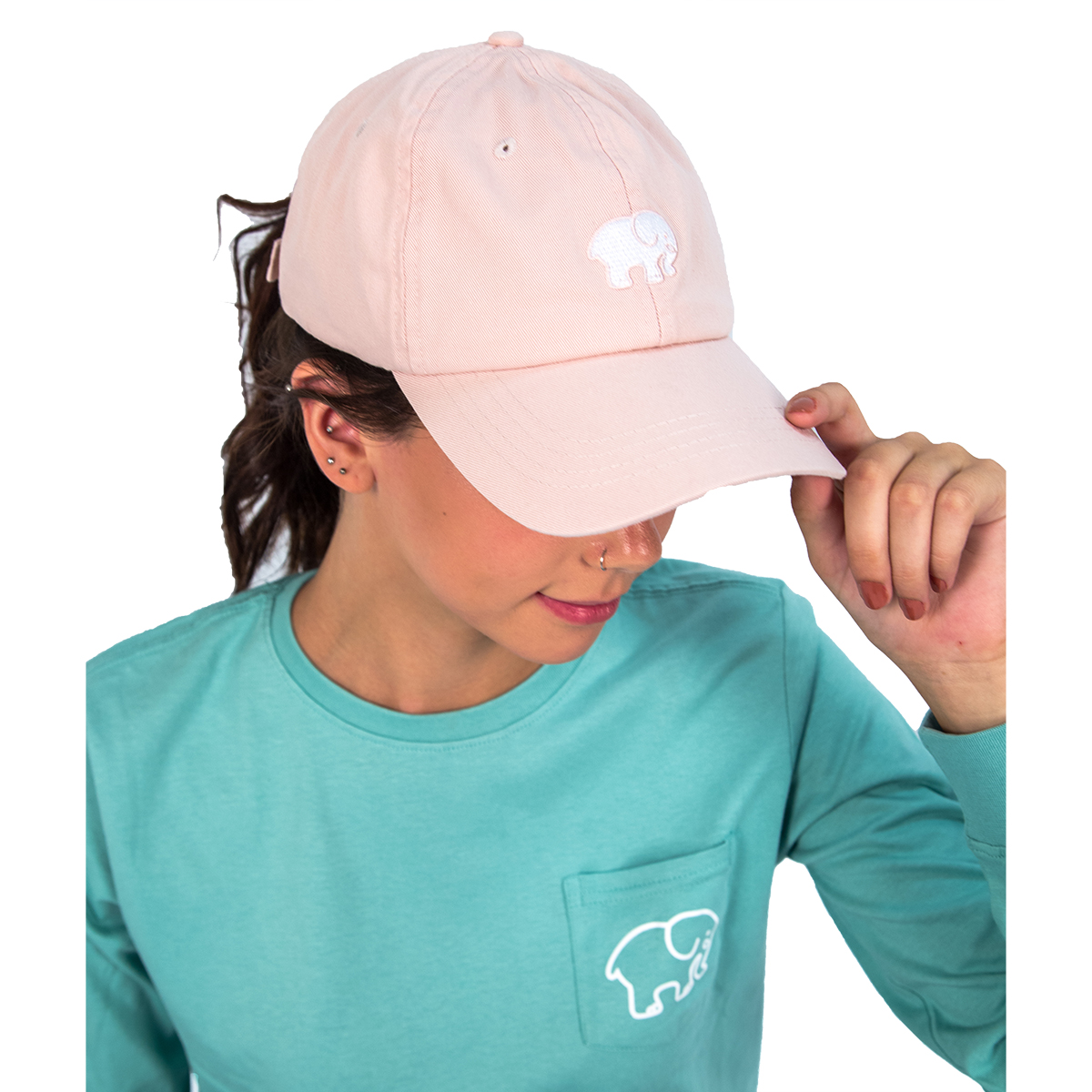 Cover Image For Ivory Ella - Baseball Cap - Blossom