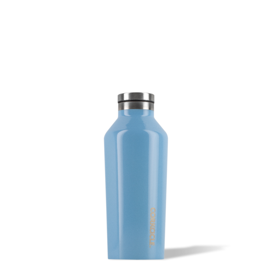 Image For Corkcicle - 9 oz. Canteen - Blue Skies
