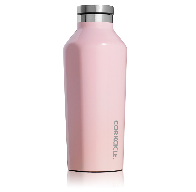 Cover Image For Corkcicle - 9 oz. Canteen - Rose Quartz