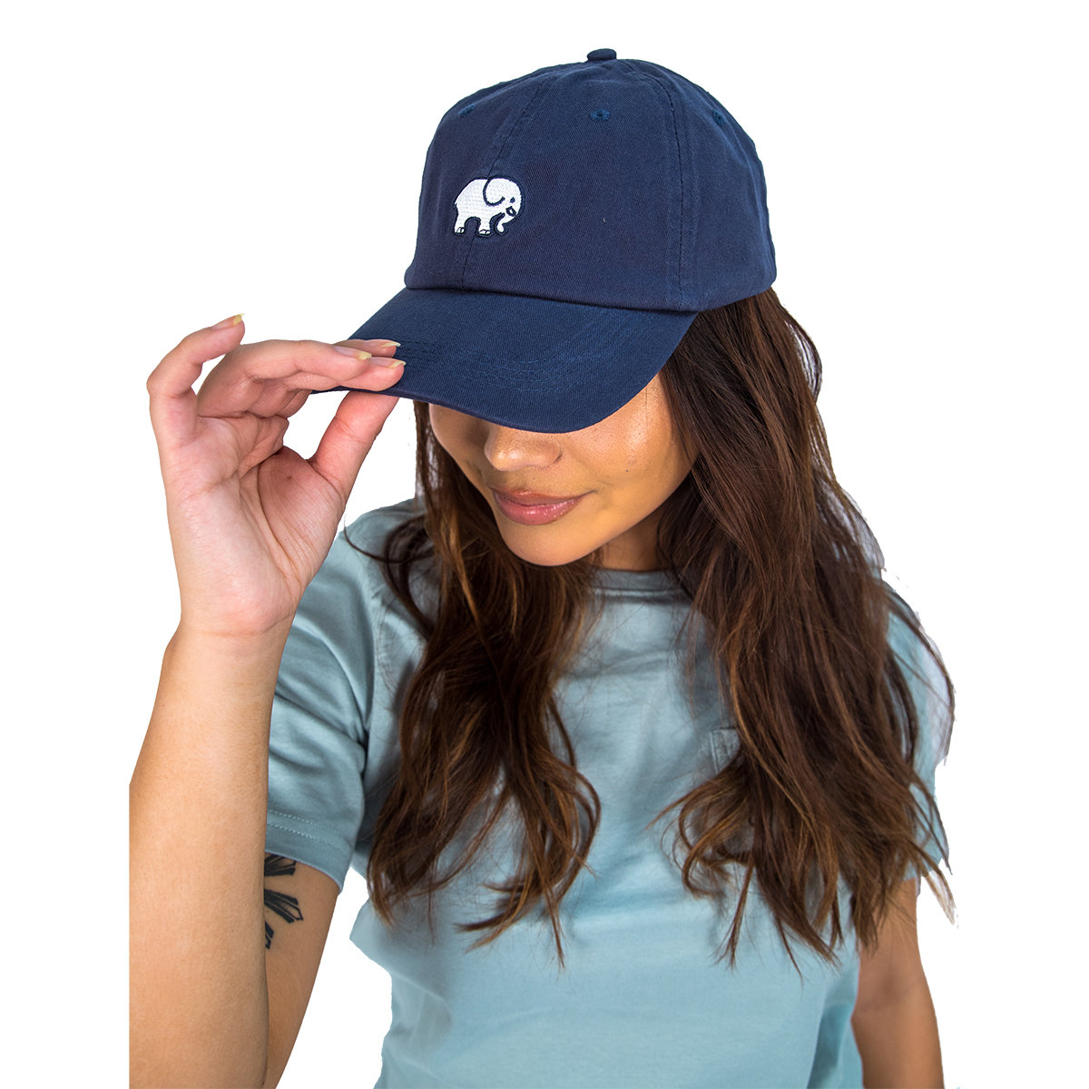 Image For Ivory Ella - Baseball Cap - Navy
