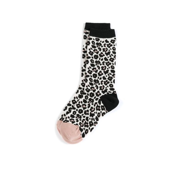 Image For Shiraleah - Mid-Calf Length Socks - Leopard