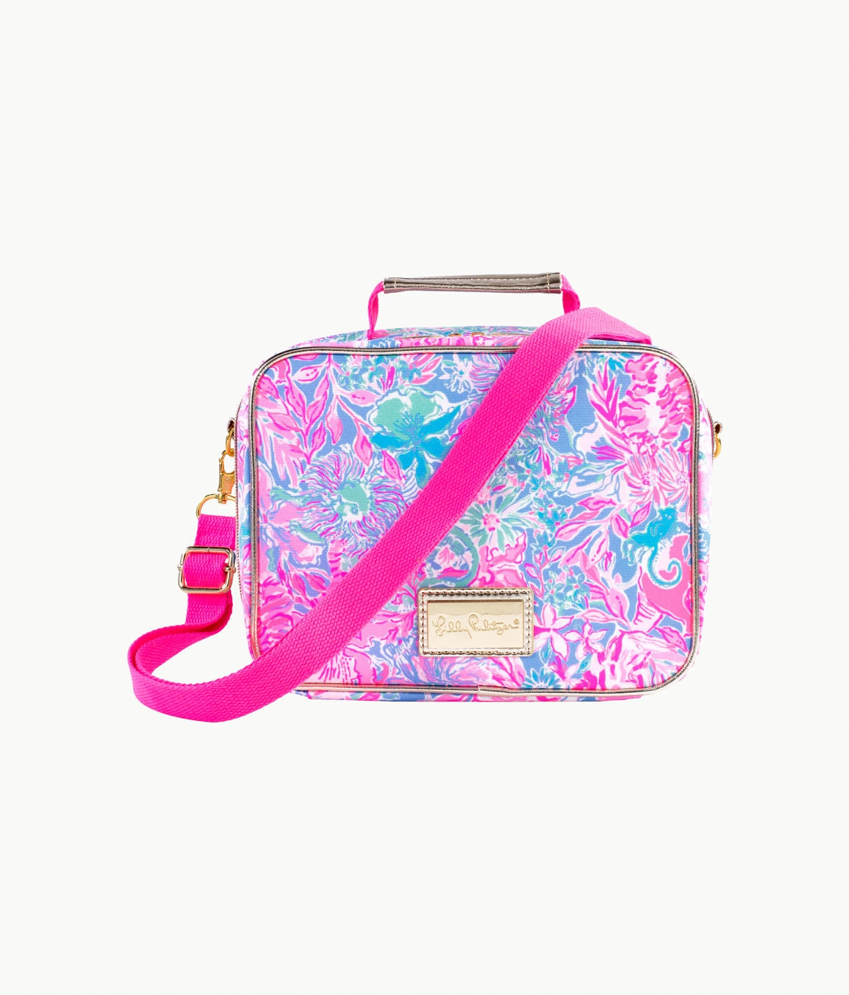 Image For Lilly Pulitzer - Lunch Bag - Viva La Lilly