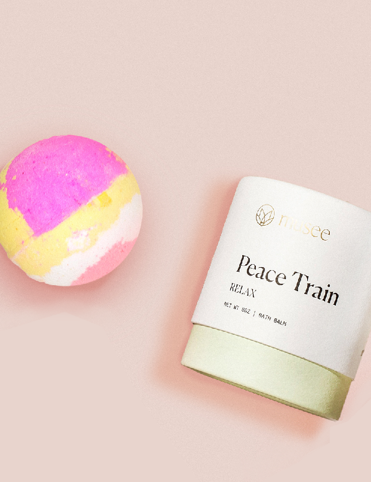Image For Musee - Therapy Bath Balm - Peace Train