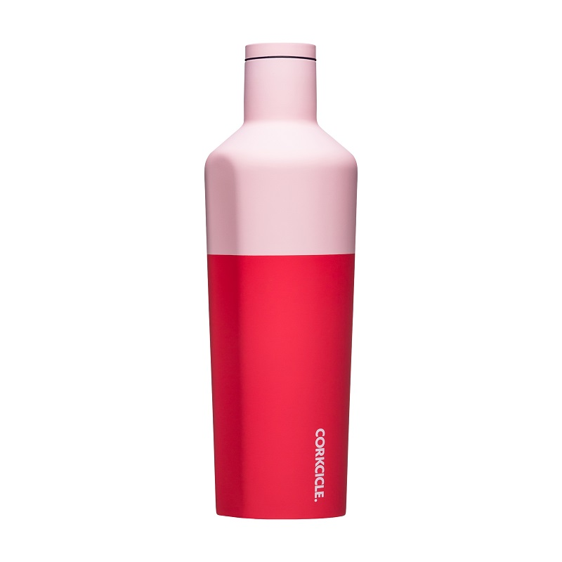 Cover Image For Corkcicle - 25 oz. Canteen - Color Block Shortcake
