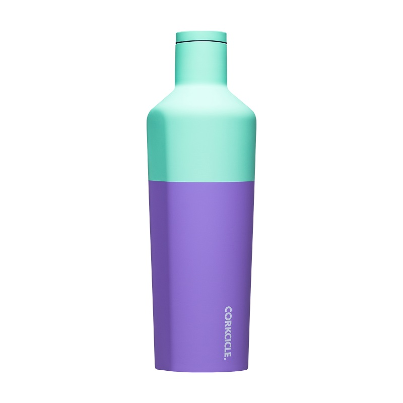 Image For Corkcicle - 25 oz. Canteen - Color Block Mint Berry