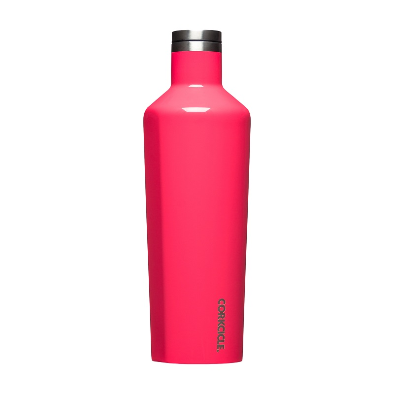 Cover Image For Corkcicle - 25 oz. Canteen - Flamingo