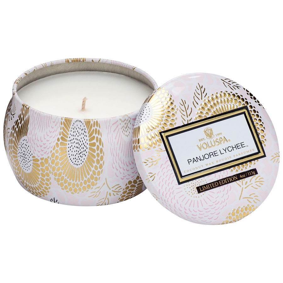 Image For Voluspa - Candle Tin - Panjore Lychee
