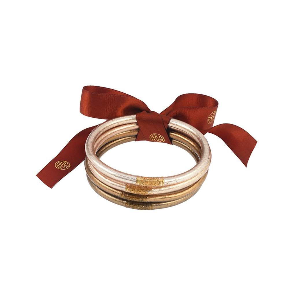 Image For BuDhaGirl – All Weather Bangles – Fawn - Large
