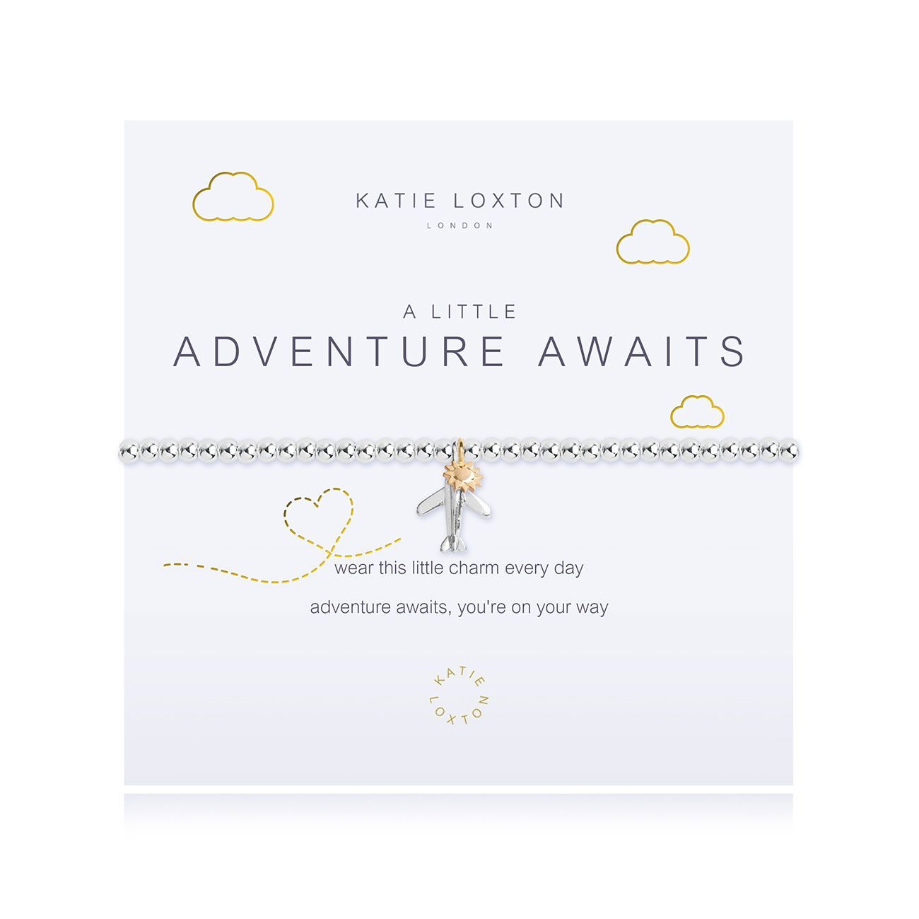Image For Katie Loxton - Bracelet - Adventure Awaits