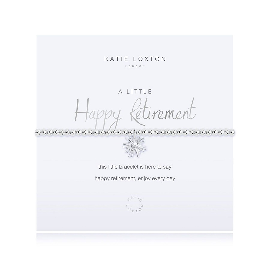 Image For Katie Loxton - Bracelet - Happy Retirement