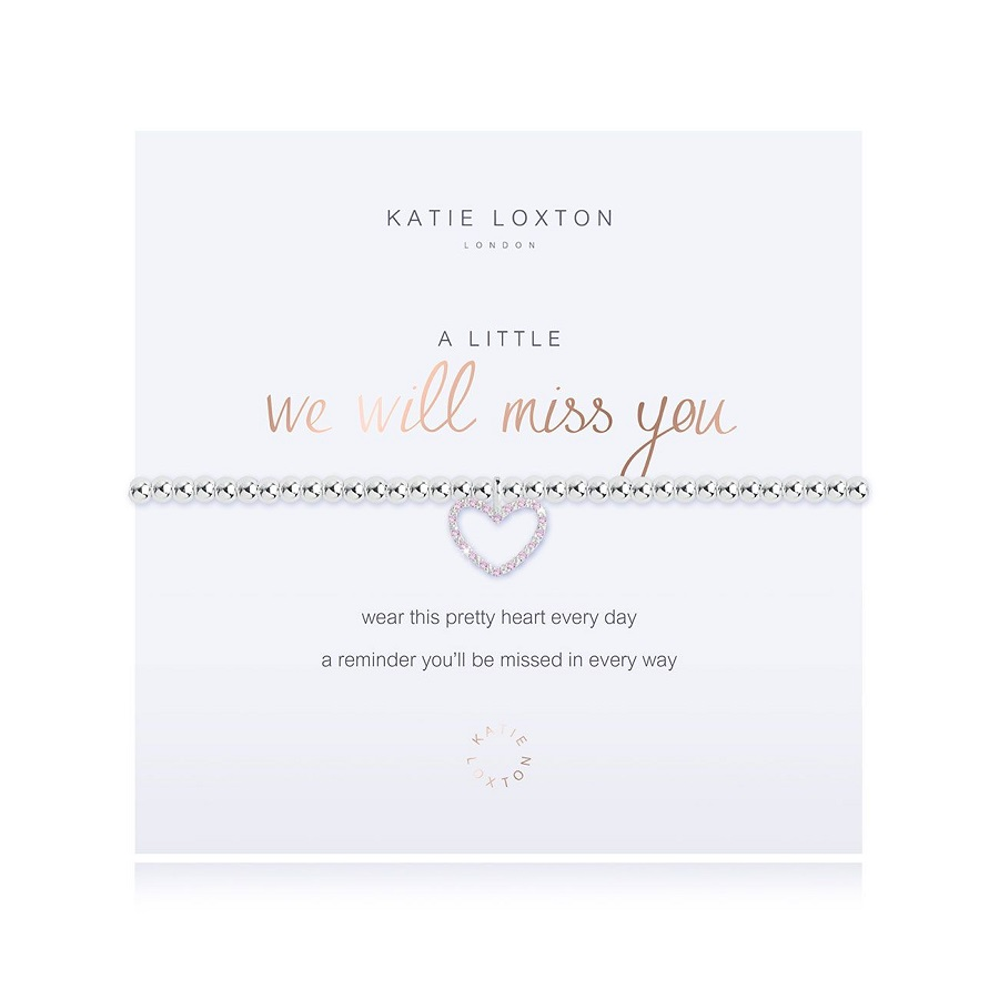 Image For Katie Loxton - Bracelet - We Will Miss You