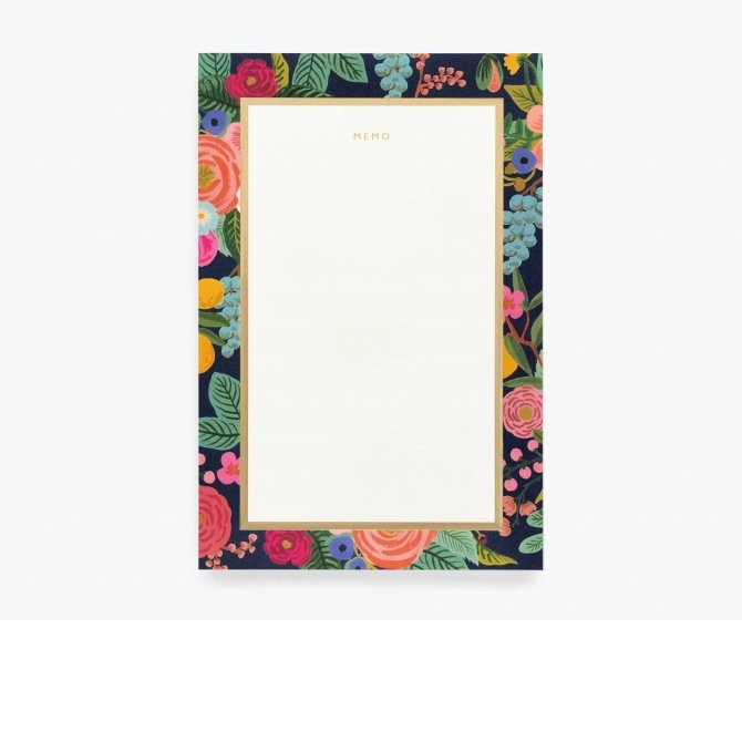 Image For Rifle Paper Co - Notepad – Garden Party Memo
