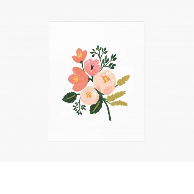Cover Image For Rifle Paper Co - Print – Rose Botanical