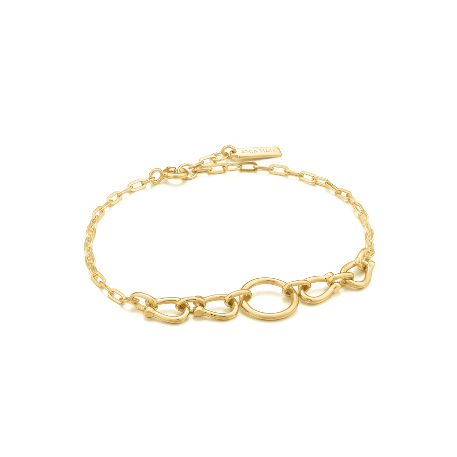 Image For BRACELET HORSESHOE LINK