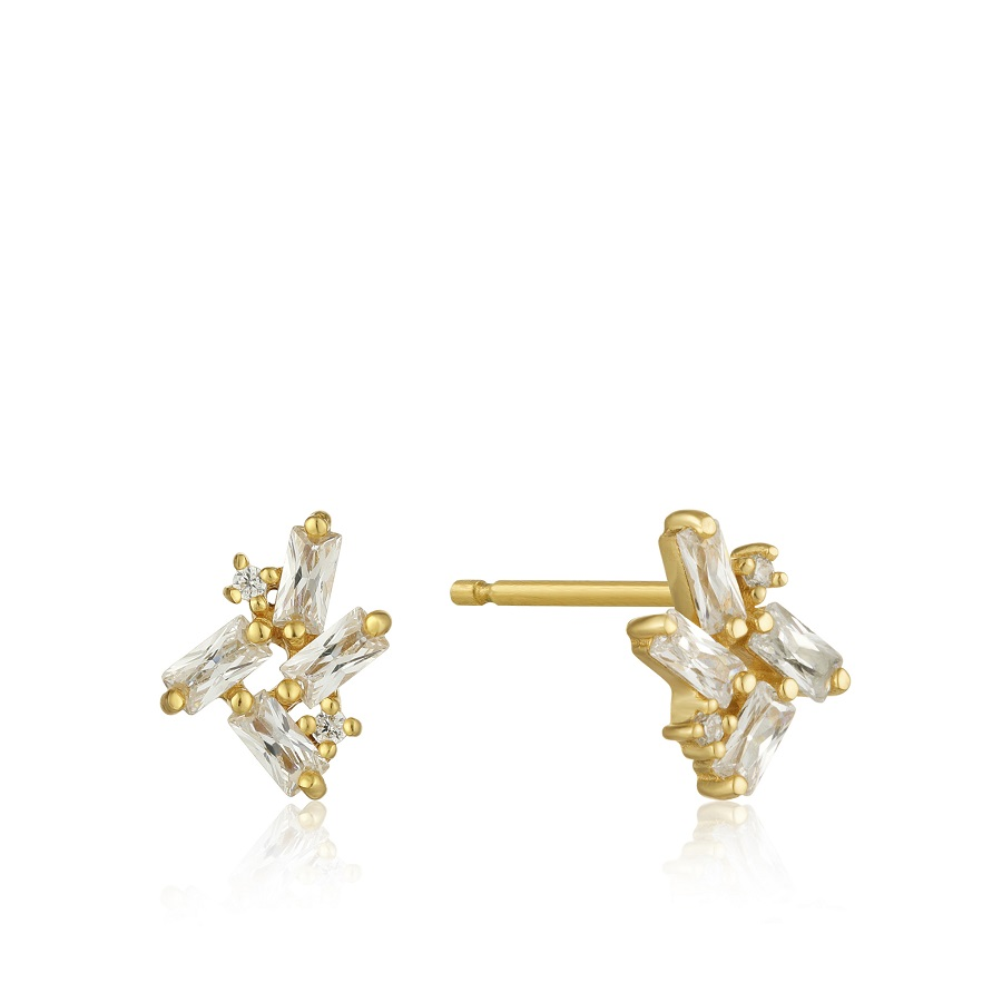Image For EARRINGS CLUSTER STUD