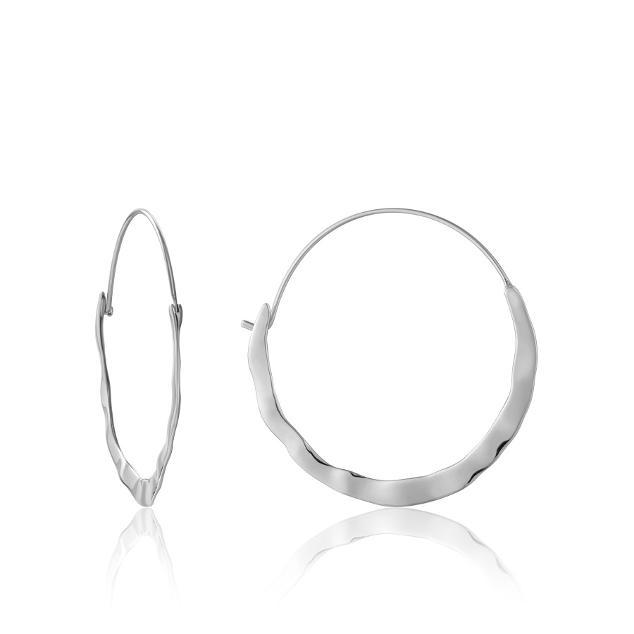 Image For EARRINGS CRUSH HOOP