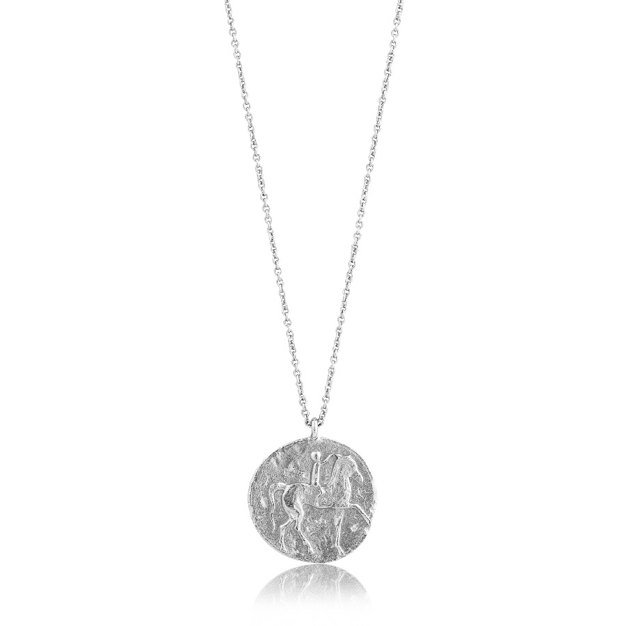 Image For Ania Haie - Necklace - Roman Rider - Silver