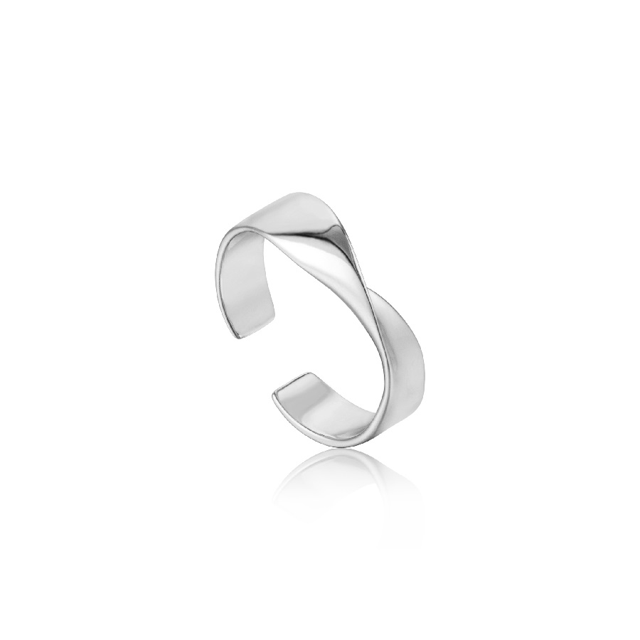 Image For Ania Haie - Ring - Helix - Silver
