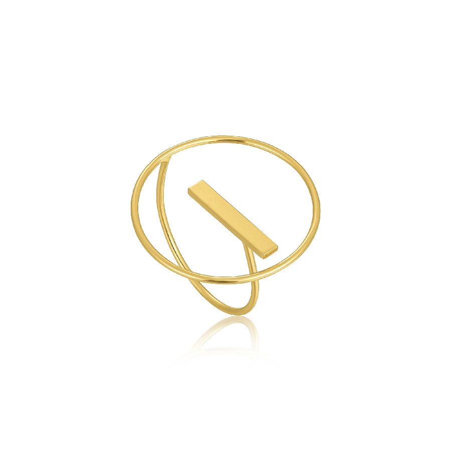 Image For Ania Haie - Ring - Modern Circle - Gold