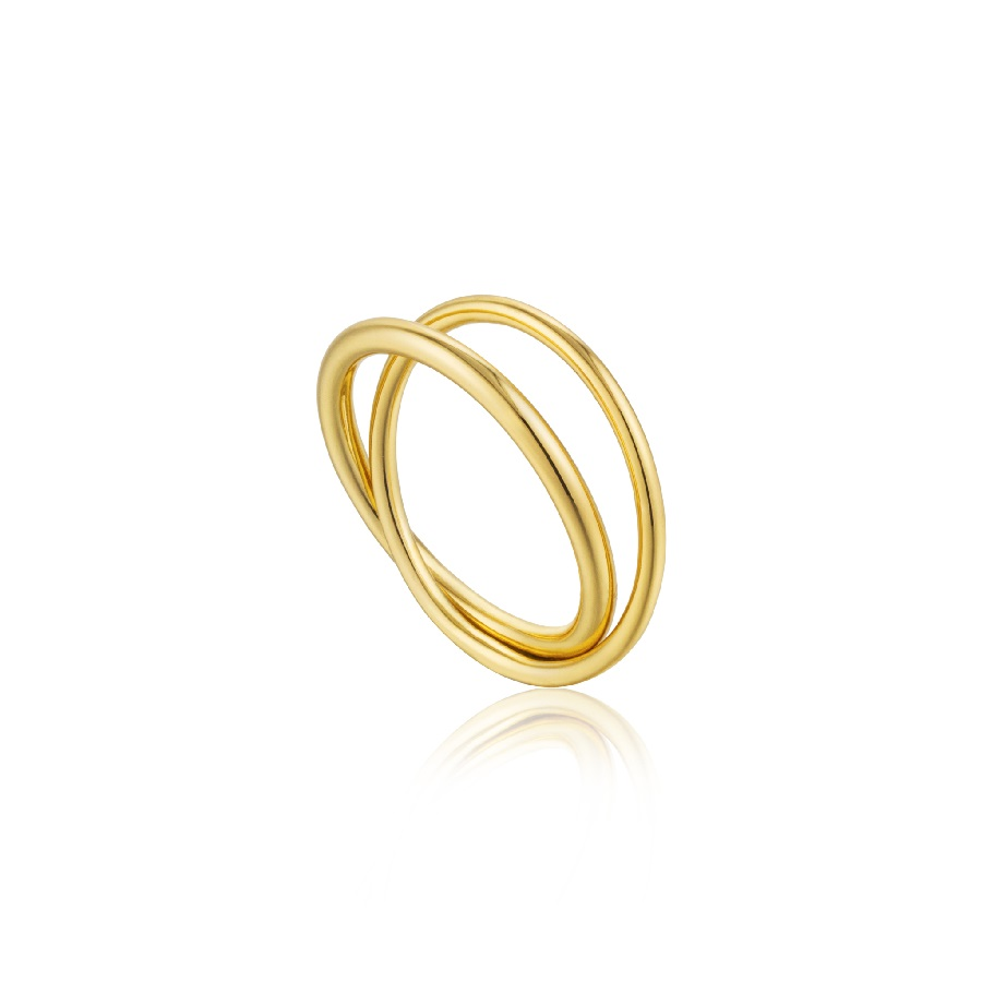 Image For Ania Haie - Ring - Modern Double Wrap - Gold