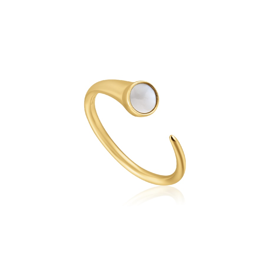 Image For RING MOTHER OF PEARL CLAW