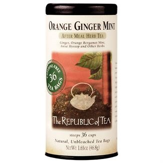 Image For Republic of Tea - Herbal - Orange Ginger Mint