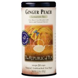 Image For Republic of Tea - Black Tea - Ginger Peach