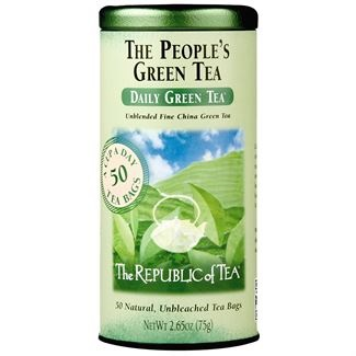 Image For Republic of Tea - Green Tea - The People's Green Tea