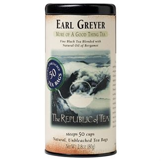 Image For Republic of Tea - Black Tea - Earl Greyer