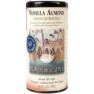 Image For Republic of Tea – Black Tea - Vanilla Almond